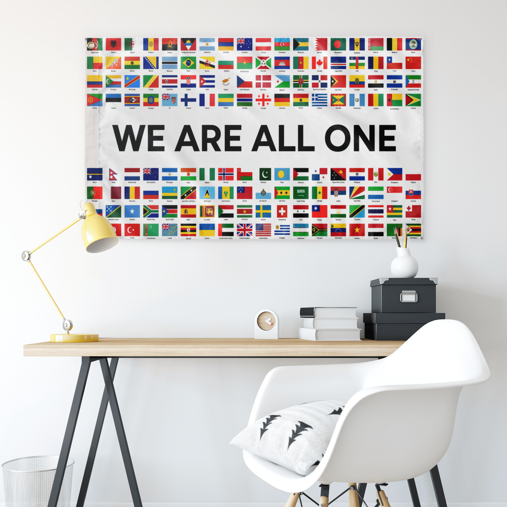 WE ARE ALL ONE FLAG
